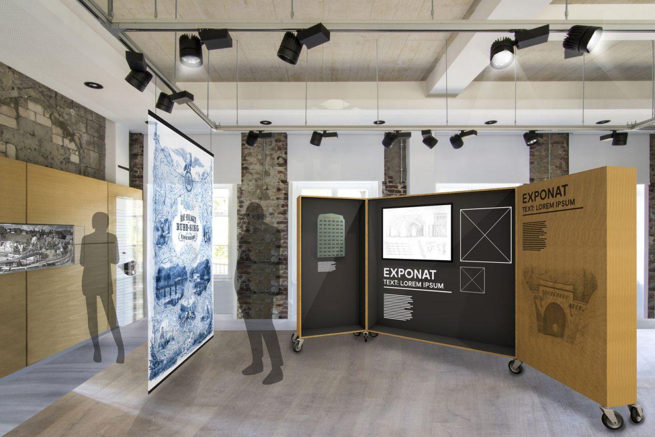 Museumsbahnhof Grevenbrück_Ausstellung Entwurf II