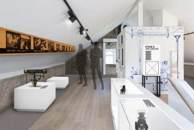 Museumsbahnhof Grevenbrück_Ausstellung Entwurf VI