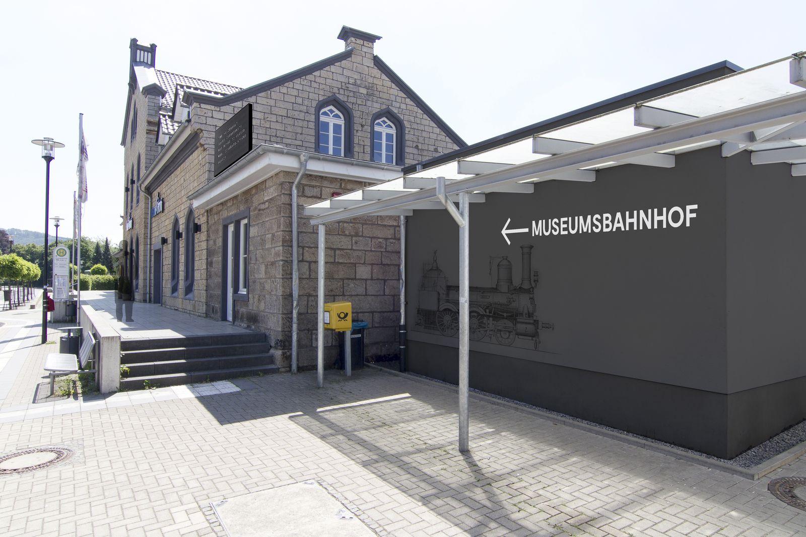 Museumsbahnhof Grevenbrück_Entwurf Außenbereich